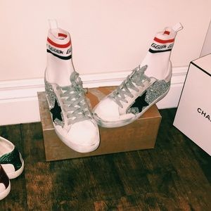Golden Goose Sock Sneakers- Limited Edition- NEW